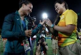 همجنسگرایی بازیکن زن برزیلی در المپیک 2016